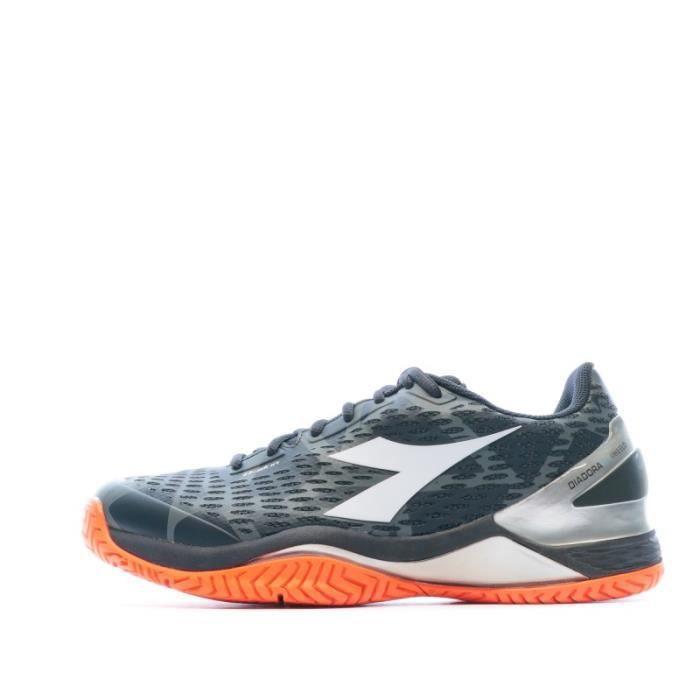 Chaussures de tennis gris homme Diadora Speed Blushield 2 AG