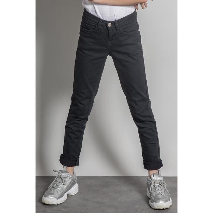 DEELUXE Pantalon slim 5 poches PIME Navy