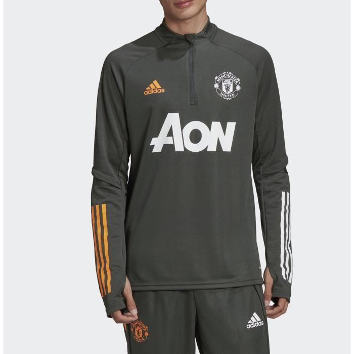 Veste Survêtement Manchester United 2020/2021 kaki. FR3664.