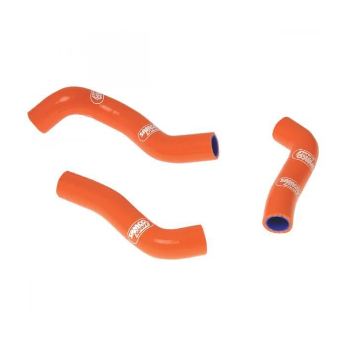 KTM SXF 250-11/12-KIT DURITES DE RADIATEUR SAMCO-ORANGE-44072533