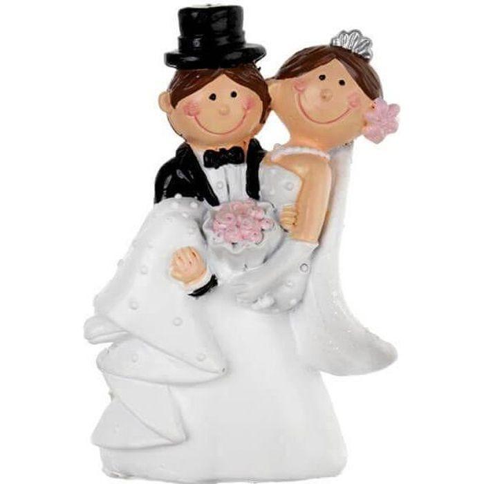 Figurine mariage -jeunes mariés- (x1) REF/5422
