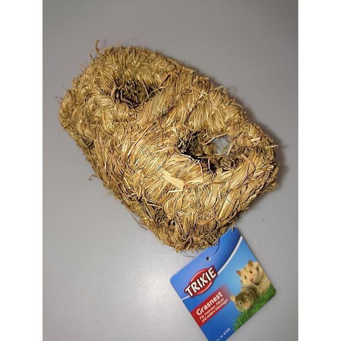 Trixie Herbe Nid Maison pour Hamsters, double 19 x 19 x 10 cm Diamètre: Animalerie
