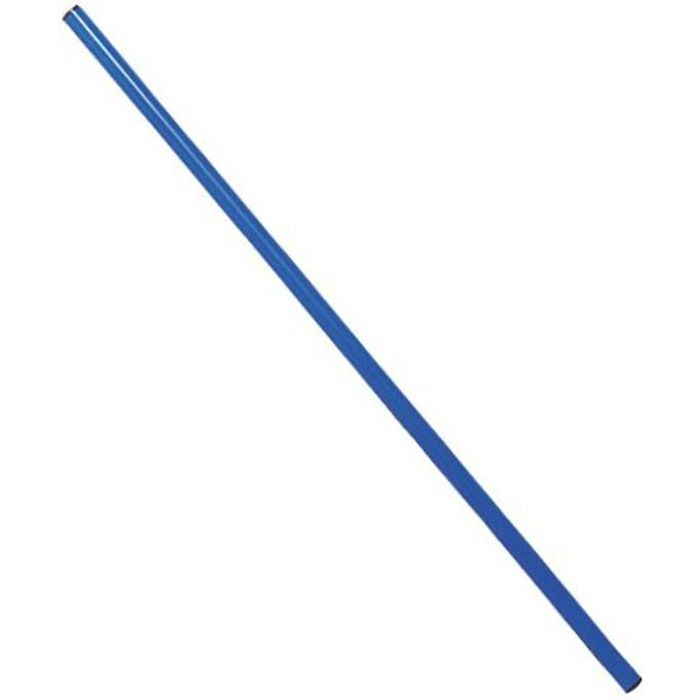 Baton de gymnastique en PVC 1.20 m - Bleu