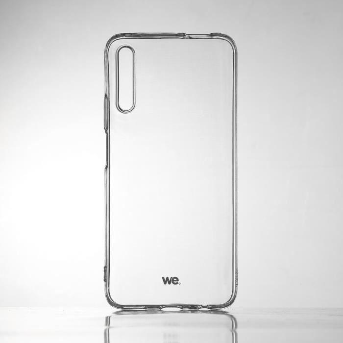 WEWE Coque de protection transparente pour smartphone HONOR 9X Fabriqué en TPU. Ultra résistant Apparence du téléphone conservée. NC