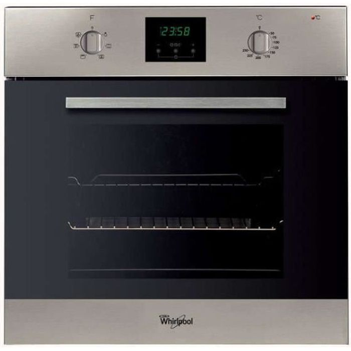 AKP447IX01 - Four intégrable multifonction 65l 60cm a catalyse inox WHIRLPOOL