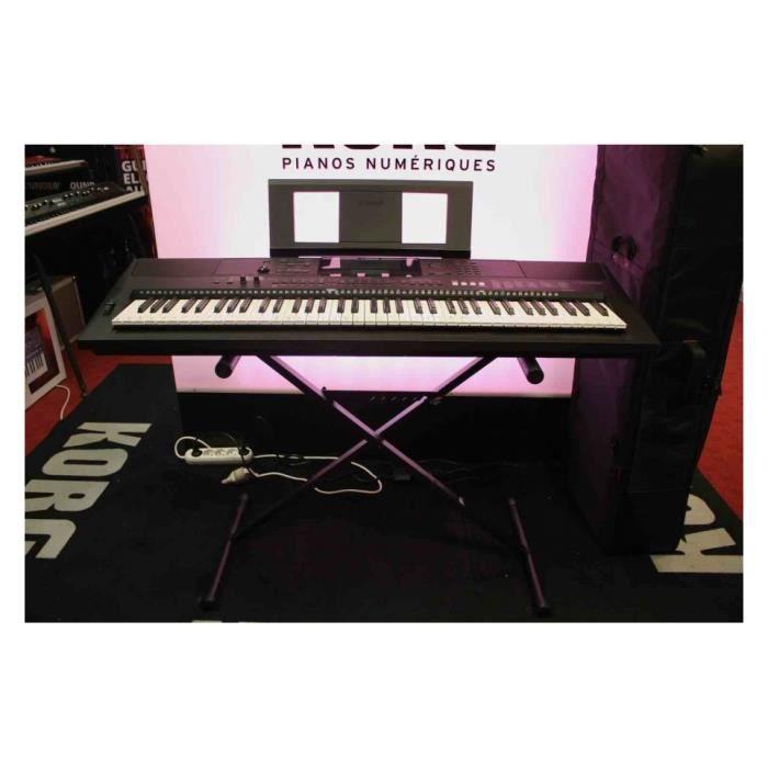Yamaha EW400 - Clavier arrangeur + support X93 - Occasion