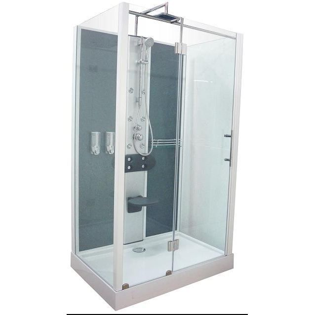 cabine de douche ela hydromassante 120x80 achat vente. Black Bedroom Furniture Sets. Home Design Ideas