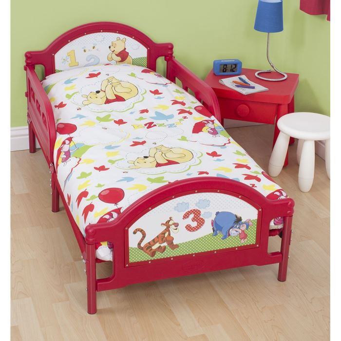 Pack literie winnie disney couette oreiller achat for Literie couette