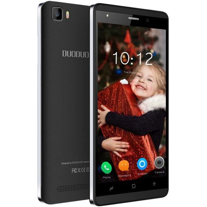 SMARTPHONE Smartphone Pas cher 16Go 5.0 Pouces HD 4G Noir (An