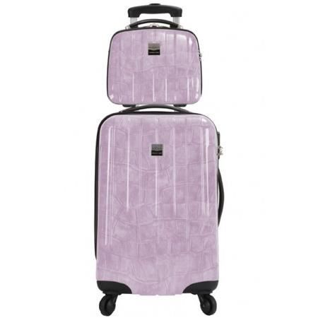 bag set valise rigide et vanity cancun p prune achat vente set de valises