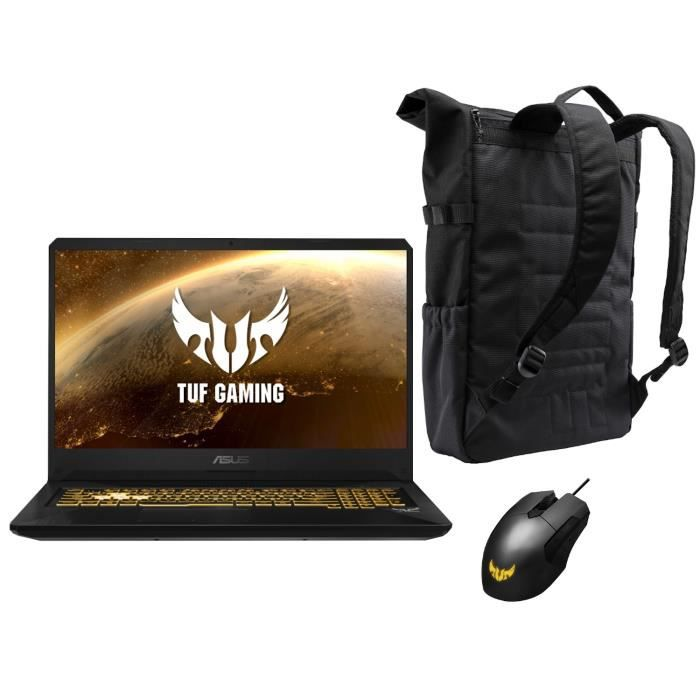 """ORDINATEUR PORTABLE PC Portable Gamer - ASUS TUF705DD-AU092 - 17,3""""FHD"""