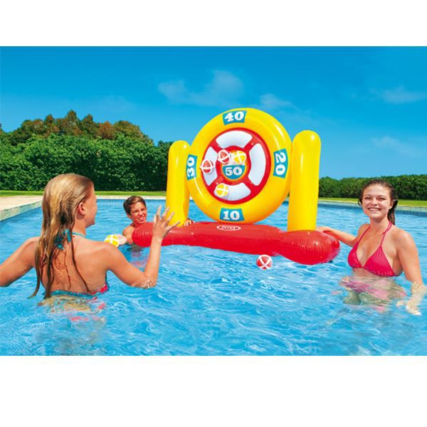 Jeux de piscine gonflable ball dartz achat vente jeux for Piscine a balle gonflable