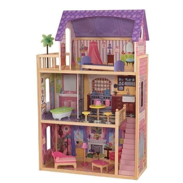 Cadeau de Noël Cadeau Grande Maison de Poupées Ensemble de meubles-Bundle pour enfants