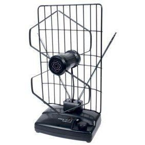 Knig ant 102 kn antenne d 39 int rieur pour fm tv for Antenne rateau interieur