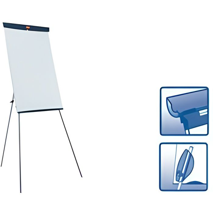 tableaux blanc flipchart nobo prix pas cher cdiscount. Black Bedroom Furniture Sets. Home Design Ideas