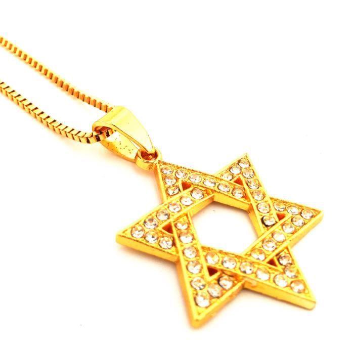 collier juif homme
