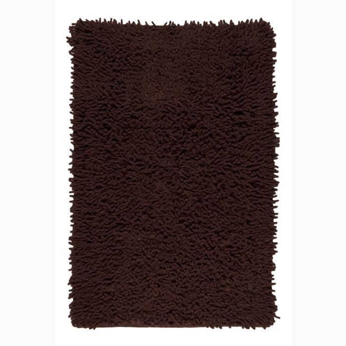 shaggy new tapis 060x90 chocolat achat vente tapis cdiscount. Black Bedroom Furniture Sets. Home Design Ideas