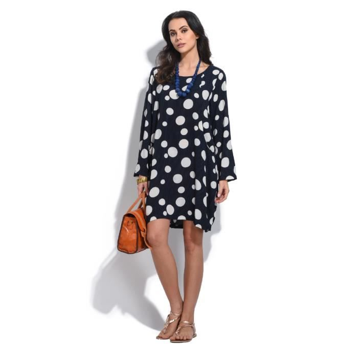 ROBE Bella blue Robe Femme Collection Printemps Eté