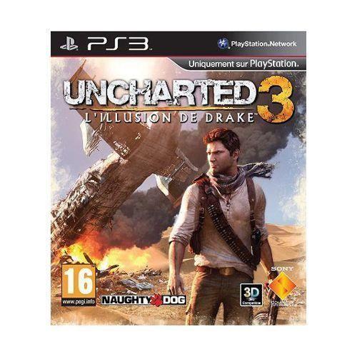 JEU PS3 Uncharted 3 : L'Illusion de Drake