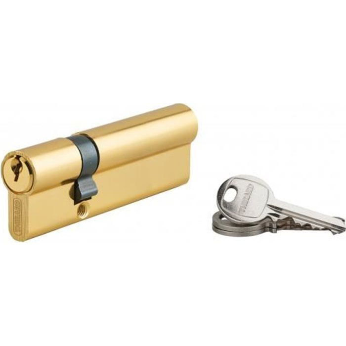 60/mm//70/mm Bouton de porte Cylindre de serrure cylindrique verrouillage Verrou de porte serrure /à encastrer /à cylindre avec 5/cl/és