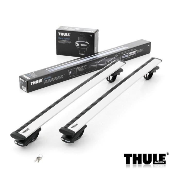 barres de toit thule wingbar 961 pour dacia duster suv 5 portes de 2010 2013 achat vente. Black Bedroom Furniture Sets. Home Design Ideas