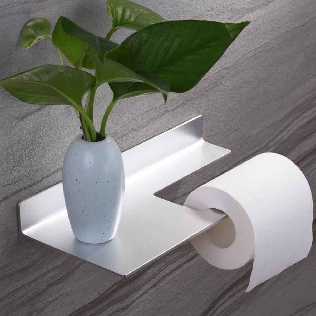 Rangement De Papier Toilette zunto porte papier toilette mural porte rouleau de papier wc