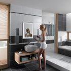 600x800cm Miroir de Vanité Salle de Bains Moderne LED Miroir Lumineux  Imperméable à l\'eau Monté éclairé Miroir Lumineux