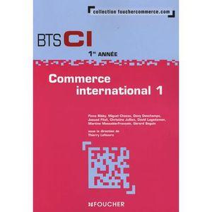 MANUEL BTS Commerce international 1; BTS CI 1e année