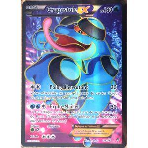 CARTE A COLLECTIONNER carte Pokémon 106-111 Crapustule-EX 180 PV ULTRA R