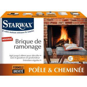 ACCESSOIRES RAMONAGE Brique de ramonage poêle et cheminée entretien rég