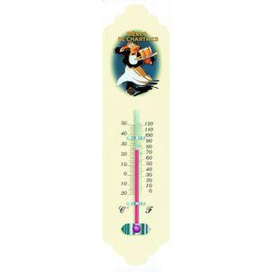 thermometre deco metal emaille pub retro rhum negrita
