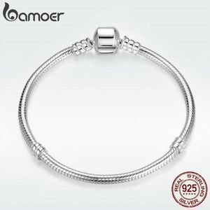 BRACELET - GOURMETTE SMRT Bracelets Noël 925-1000 AAA Argent  Chaîne De