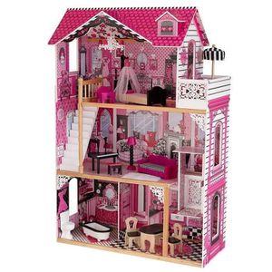 MAISON POUPÉE KIDKRAFT - Maison de poupées en bois Amelia