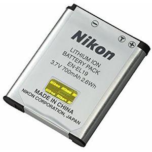 BATTERIE APPAREIL PHOTO NIKON Batterie EN-EL19 pour W100 / A300 / A100 / S
