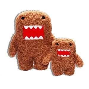Dark Knight Batman Domo 4 Pouces Peluche Clip On