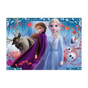 PUZZLE Puzzles 2x12 p - Voyage vers l'inconnu / Disney La