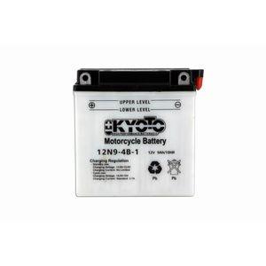 BATTERIE VÉHICULE KYOTO - Batterie moto - 12n9-4b-1 - L137mm W76mm H