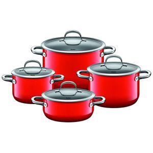 POÊLE - SAUTEUSE Silit Pot-Set 4 pièces. Red Passion 2109297093