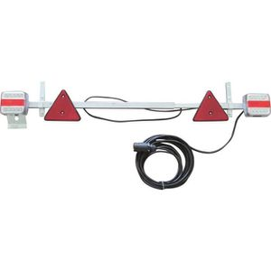 PIÈCE REMORQUE Rampe d'éclairage télescopique LED TOPCAR 17109