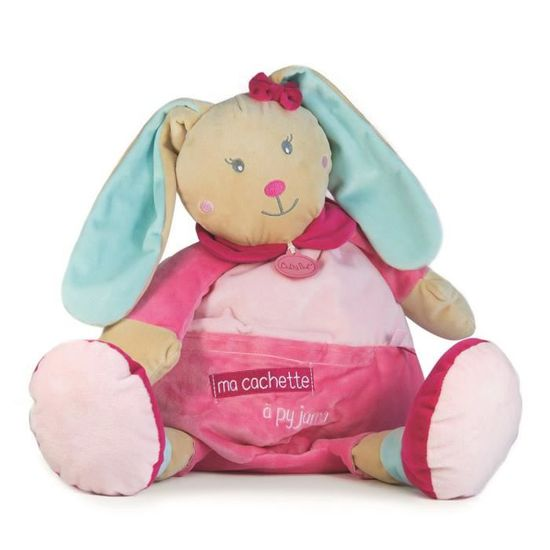 Baby nat Range Pyjama Perle le Lapin Rose