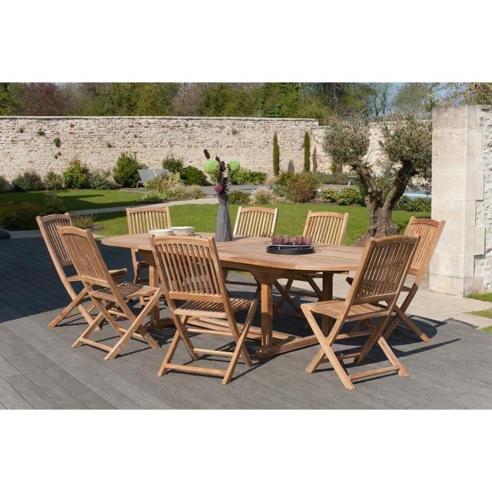 ovale Table chaise jardin de cKJulT5F13