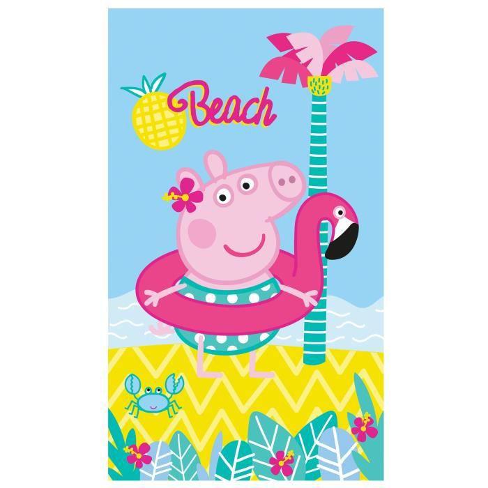 Drap de plage PEPPA PIG SUMMER 70x120