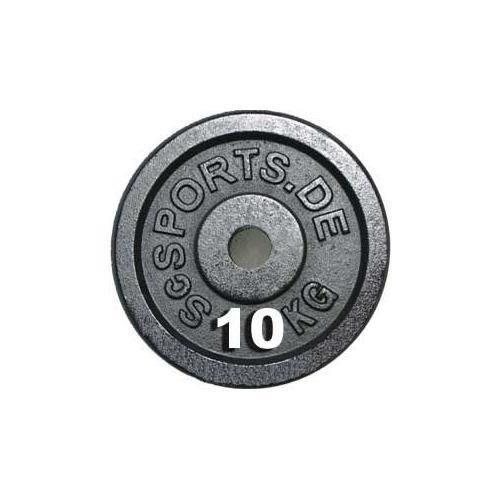 Lot de disques en fonte ScSPORTS - 2 x 10 KG (20 KG) ø30 / 31