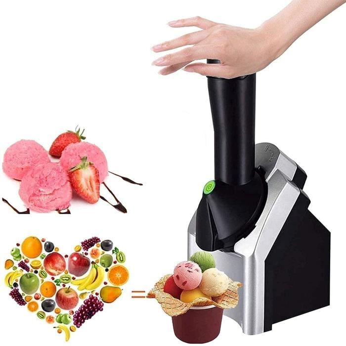 Machine à crème glacée Machine à crème glacée aux Fruits pour des Desserts sains Machine à crème glacée à la Maison pour Faire des