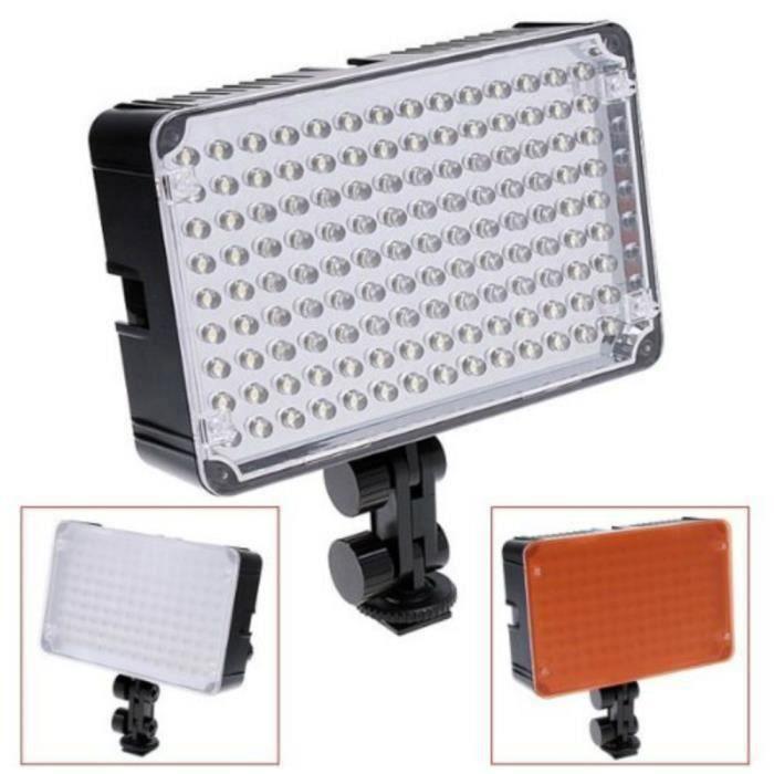 Aputure Avertissement AL-126 LED Vidéo Lumière