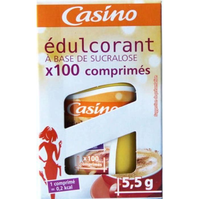 Edulcorant Sucralose - 100 comprimés - 5,5 g