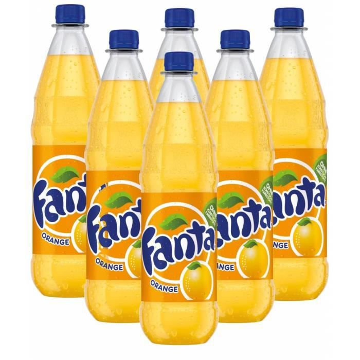 Fanta Orange 6 x 1l