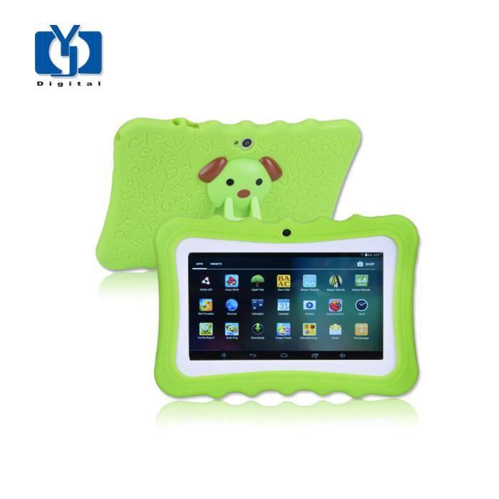 7 de pouce Enfants Tablet PC Édition Android 4.4.2.0 1G/8G WiFi Tablet PC enfants Cadeau Tablet Pc Bébé