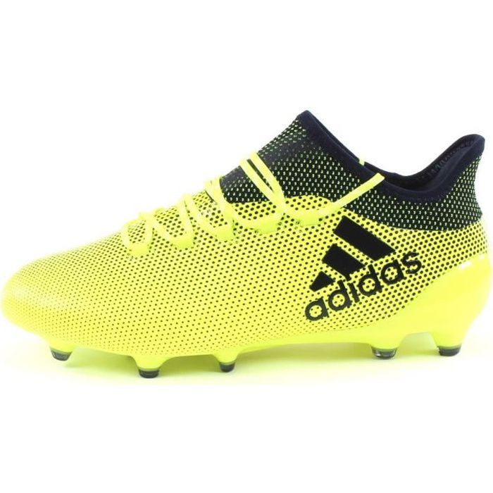 ADIDAS PERFORMANCE Chaussures de football X 17.1 FG - Homme - Jaune