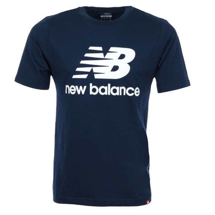 T-shirt New Balance Essentials Stacked Logo Tee
